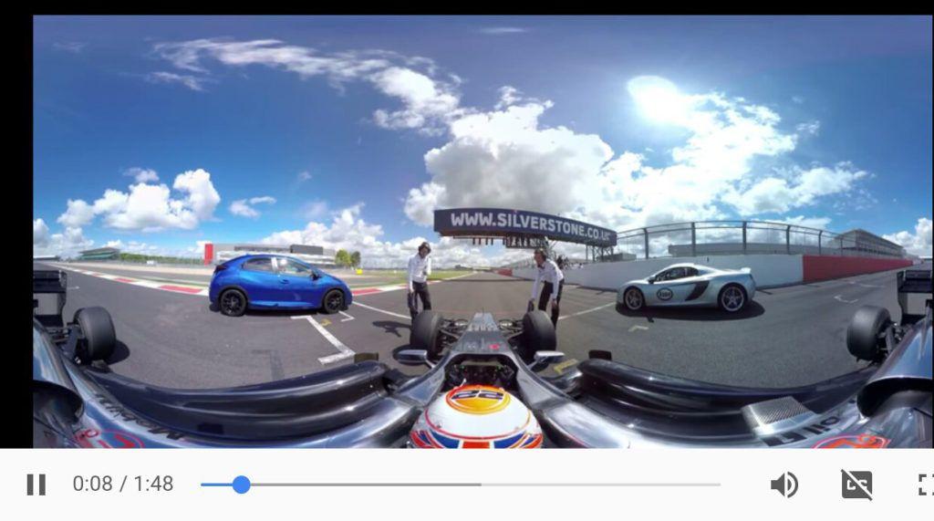 видео 360 градусов ютуб