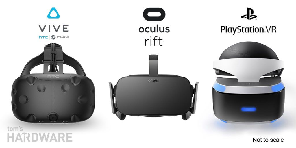HTC Vive, Sony PlayStation VR или Oculus Rift