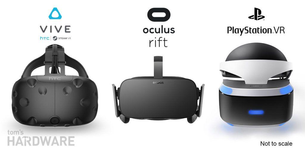 HTC Vive, Sony PlayStation VR или Oculus Rift
