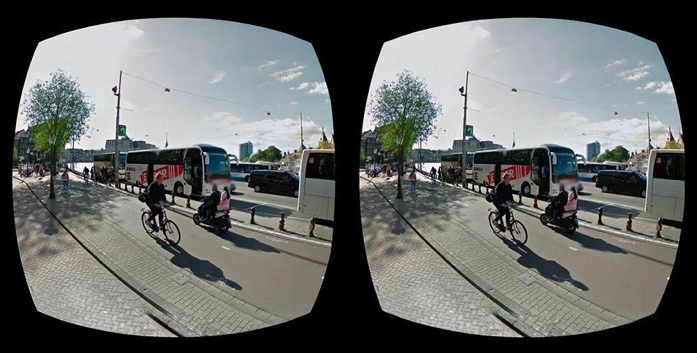 Google Street View для Cardboard