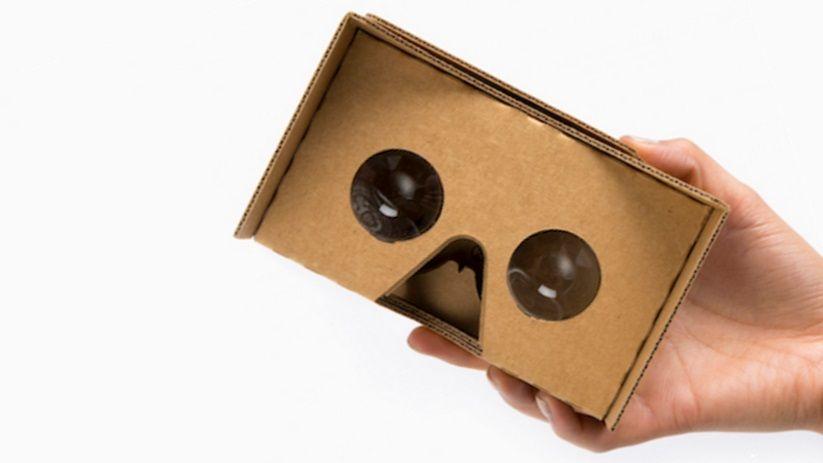 Вид Google Cardboard