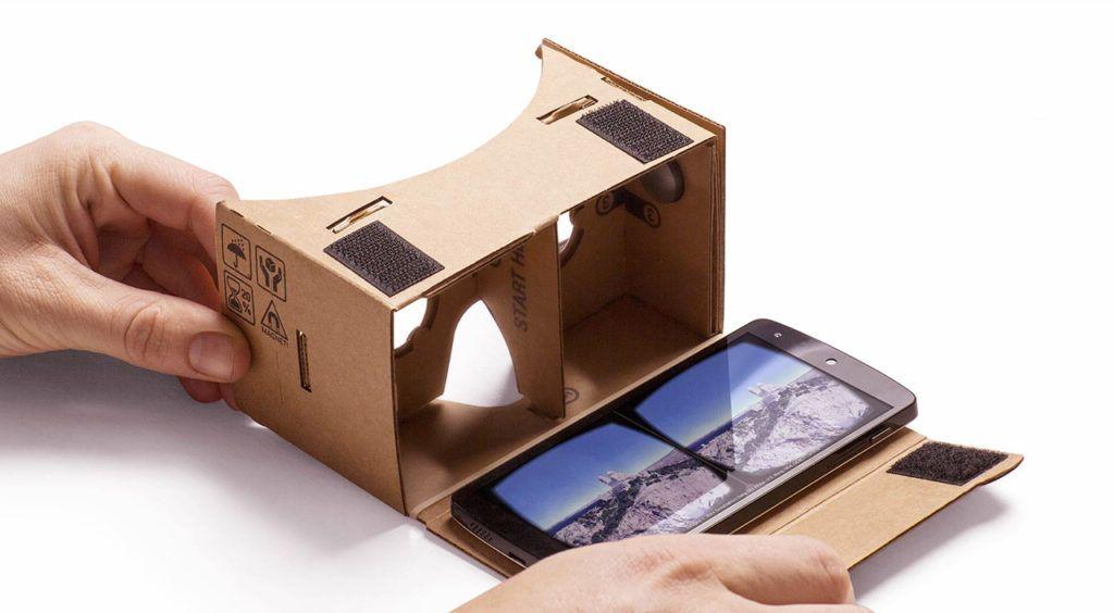 google cardboard vr box