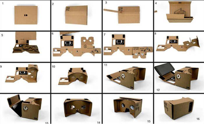 сборка google cardboard
