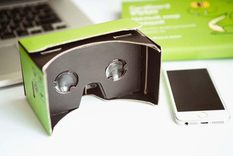 Очки виртуальной реальности Google Cardboard