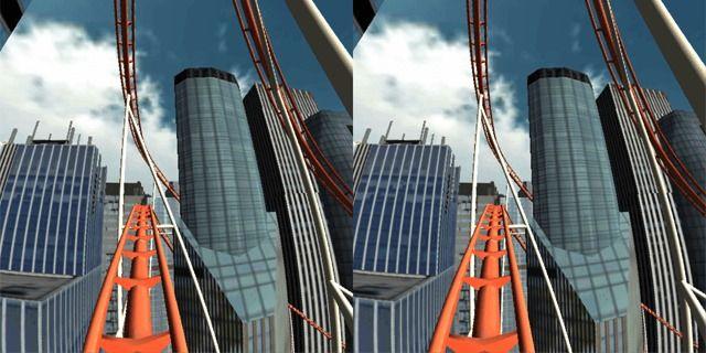 Приложение Roller Coaster VR для Андроид