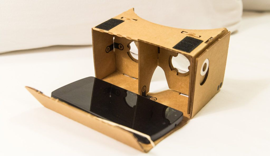 смартфоны для google cardboard