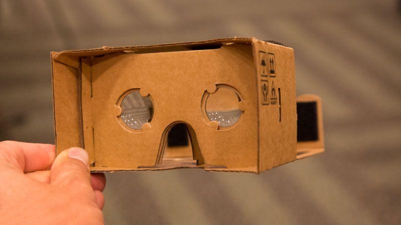 Картонные очки Google Cardboard
