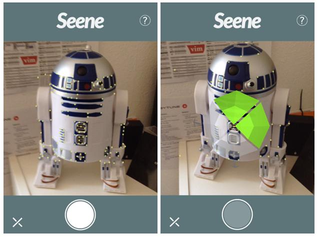 Приложение Seene для андроид