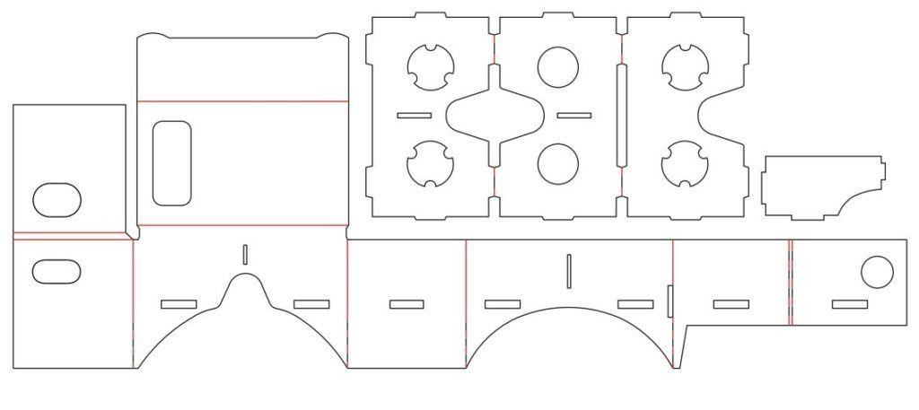 cardboard схема