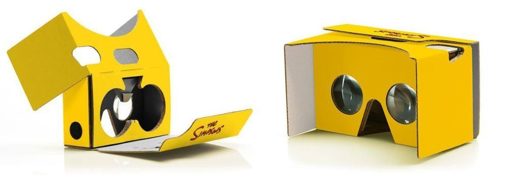 Очки VR в стиле гарнитур