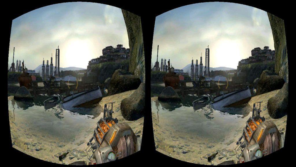 Компьютерная игра в VR очках