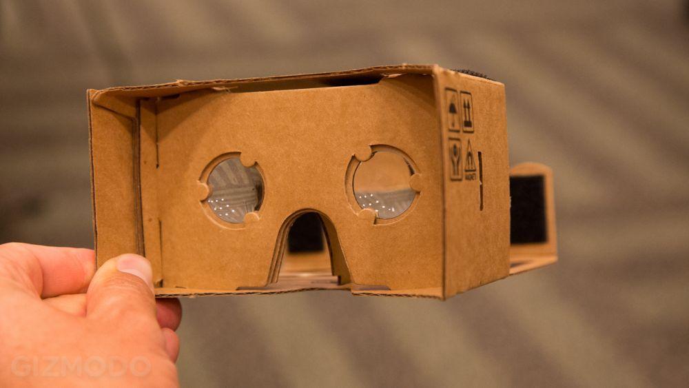 Очки виртуальной реальности Cardboard