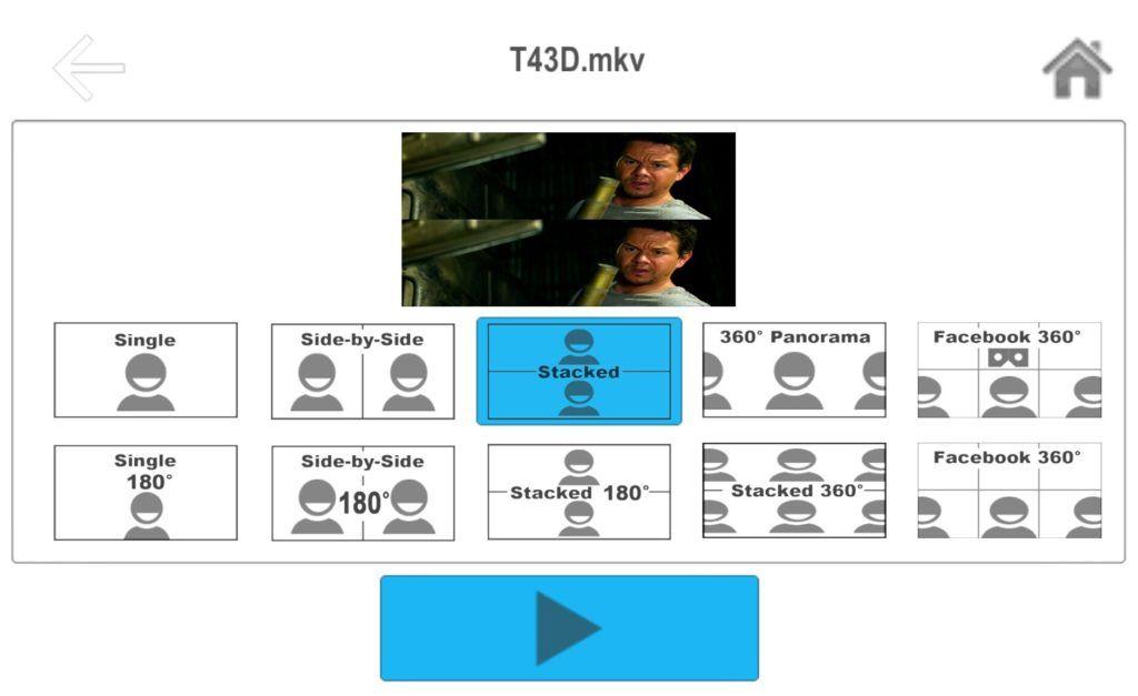 Фильм 3d на Android