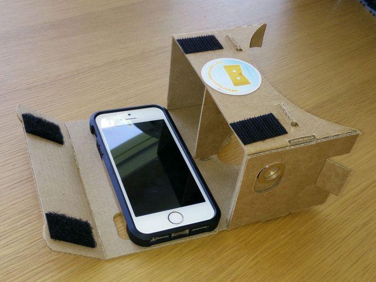 Cardboard для айфона