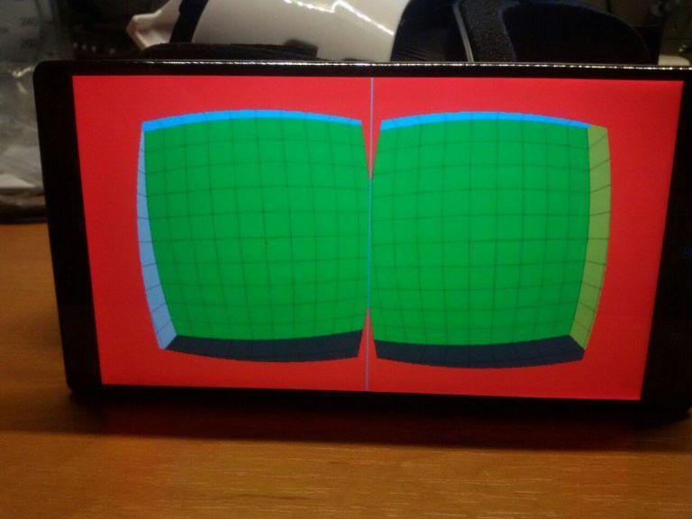 Пример красных краев