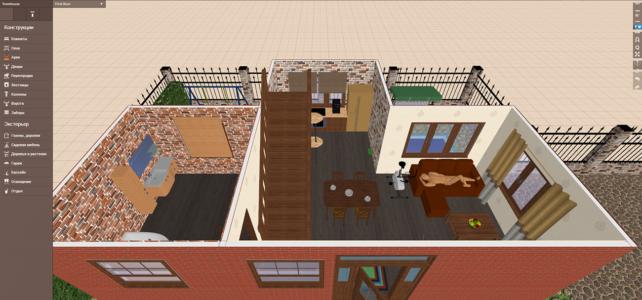 Дизайн виртуальных интерьеров в Planner 5d