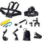 Виды и особенности аксессуаров для экшн-камеры-различные аксессуары для gopro