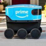 Роботы по доставке от компании Amazon