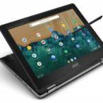 Представлен ноутбук-трансформер Acer Chromebook Spin 512