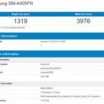 Смартфон Samsung Galaxy A40 протестировали в бенчмарке
