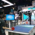 Робот Forpheus для игры в пинг понг