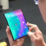 Демонстративное видео складного смартфона от Xiaomi