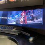 49-дюймовый игровой монитор Samsung CRG9 с разрешением 5,120×1440 пикселей