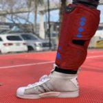 Портативный инструмент Spryng для восстановления мышц ног