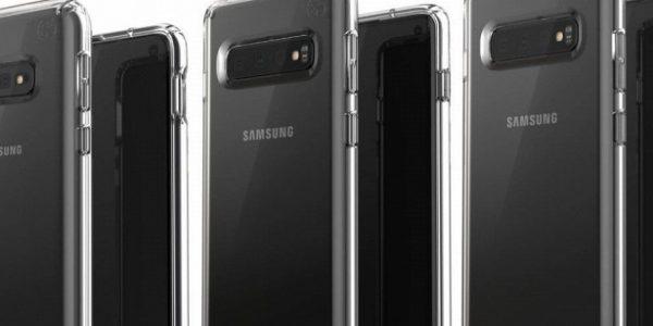 Тримодели Galaxy S10показали нановом изображении&nbsp