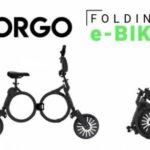 Электровелосипед ORGO помещается в рюкзак