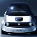 Эскиз нового автомобиля Honda Urban EV